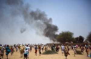 SUDAN-UN-DARFUR-ACCIDENT-FIRE
